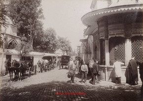 Sebile de Ibrahim Pacha, Mosquee Shah Zade. 1890s