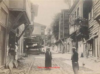 Quartier turc a Stamboul. 1880s