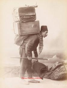 Porteur Turc. 1890s