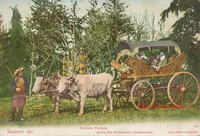 Voiture Turque. 1890s