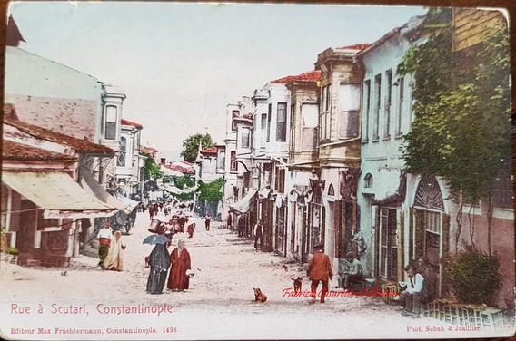 Rue a Scutari, Constantinople. 1890s