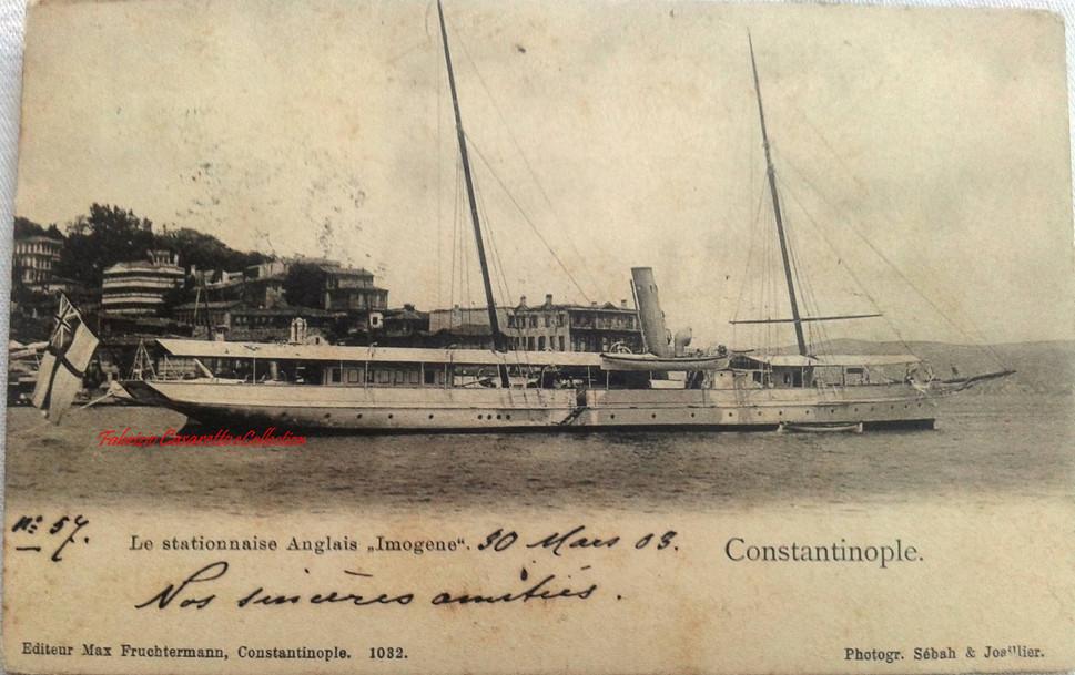 Le stationnaise Anglais Imogene. 1890s