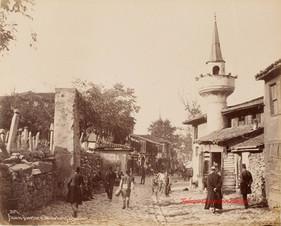 Ancien Quartier et Bazar Turc a Scutari 207. 1890