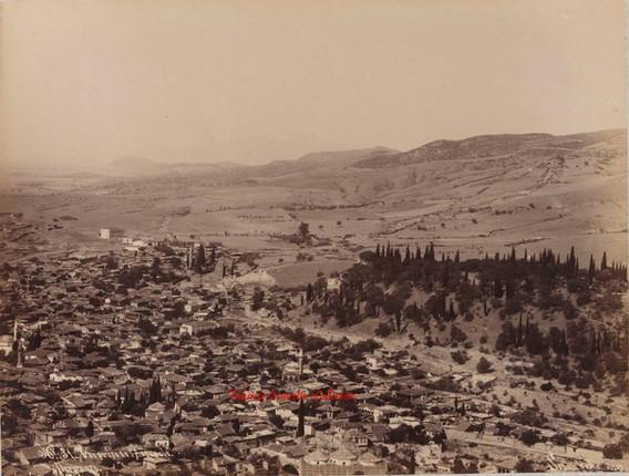 Vue prise de l'Acropole. Pergame 31. 1890