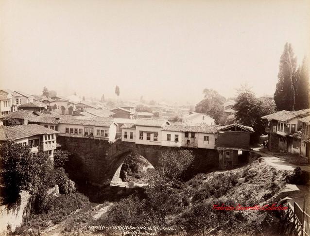 Brousse. Vue prise du Pont de Set-Bachi 24. 1890s
