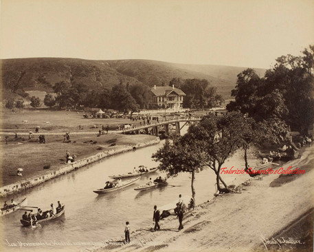 La Promenade du Vendredi aux Eaux Douces d'Europe et le Kiosk Imperial. 1880s