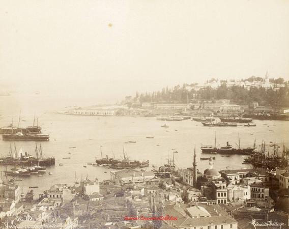 Vue panoramique de la pointe du Serail 29. 1890s