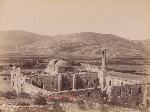 Vue generale de la grande Mosquee. Ephese 84. 1890