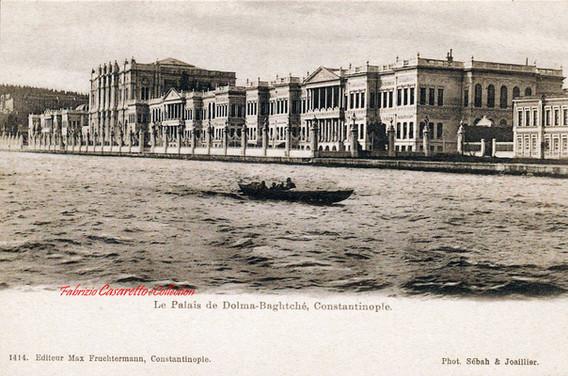 Le Palais de Dolma-Bagtche, Constantinople. 1900s