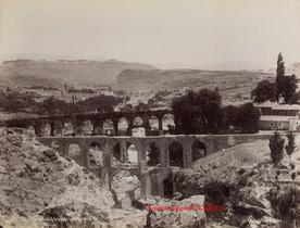 Aqueducs du Paradis pres de Smyrne 22. 1890s