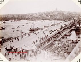 Le pont de Galata 915. 1900s
