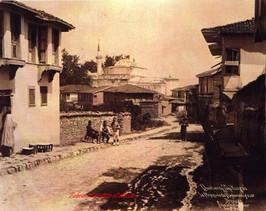 Brousse. Quartier Tchekirgue. La Moquee de Hudavenguiar. 1890s