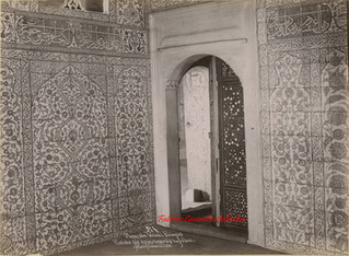 Mosquee Valide. Faiences. Entree des appartements du Sultan 314. 1890s