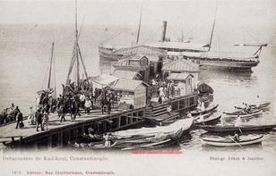 Debarcadere de Kadi Kuei. 1880s
