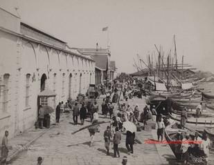 La Douane. Smyrne 9. 1890s