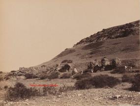 Ruines au pied du Mont Coressos. Ephese 93. 1890