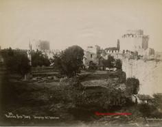 Porte des Sept Tours. Vue prise de l'interieur 82. 1890s