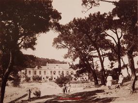 Ecole Greque, Christos Monastere, Constantinople Prinkipo. 1895