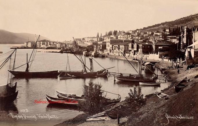 Iles des Princes. Vue de Halki 9. 1890s
