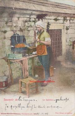 Le Cafetier. 1900s