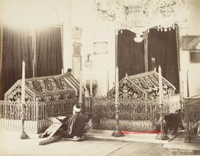 Tombeaux des Sultans Mahmoud II et Abdul Aziz 10. 1890s