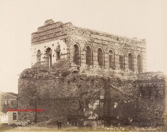 Le palais de l'Hebdomon 80bis. 1885