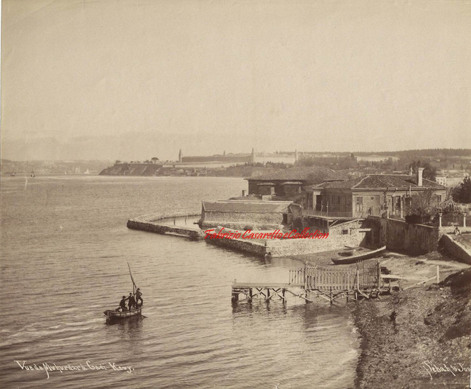Vue de Muhurdar a Cadi Keuy. 1880s