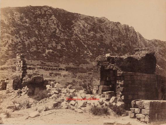 Ruines au pied du Mont Coressos. Ephese 95. 1890