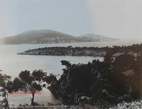 Iles des Princes. Halki et vue de la Langue Doree a Prinkipo 7. 1890s