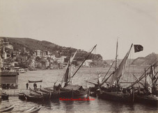 L'entree du Bosphore Buyuk Dere. 1890s
