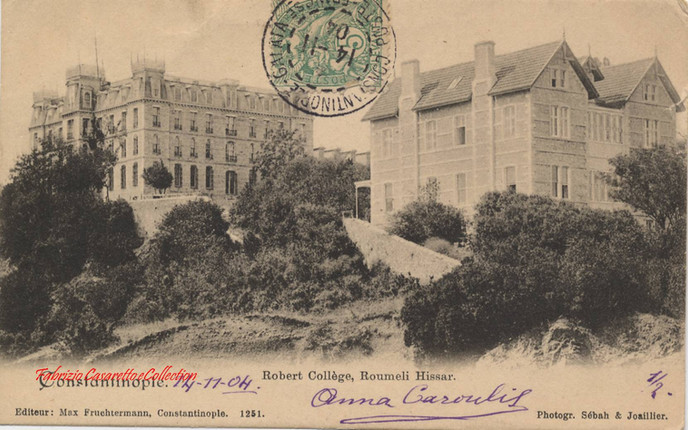 Robert College, Roumeli Hissar. 1900s