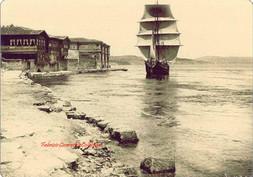Quai de Roumeli Hissar et bateau 611bis. 1887