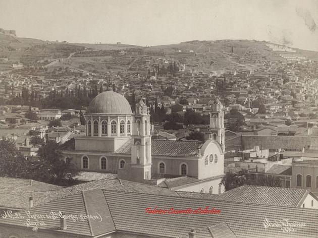 Eglise de Saint George (grecque), Smyrne 20. 1890