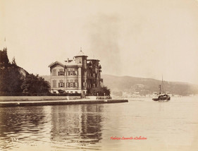 Ambassade d'Angleterre. Therapia Bosphore 385. 1890s