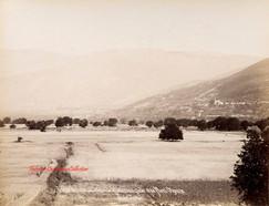 Brousse. Vue du village de Hudavenguiar et du Mont Olympe 3. 1890s