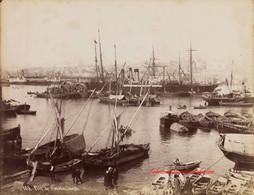 Port de Constantinople 885. 1880s