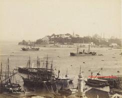 La pointe de Serail 428. 1880s
