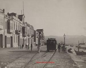 Vue du quai, prise du Nord. Smyrne 13. 1890