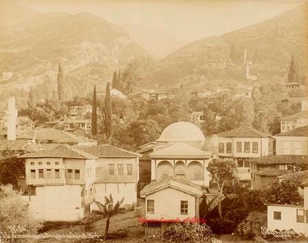 Vue panoramique de Brousse et de Gueuk Dere 56. 1890s