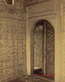 Mosqee Valide. Faiences. Entree des appartements du Sultan 313. 1890s