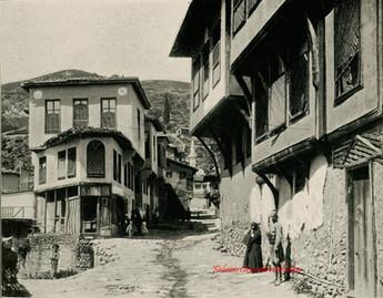 Quartier turc. Brousse 712. 1890s