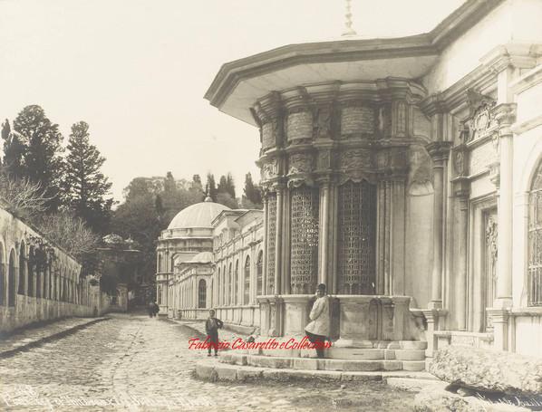 Fontaine et Tombeau des Sultans a Eyoub 148. 1880s