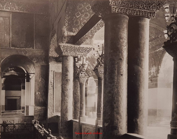 Ste Sophie les colonnes. 1890s
