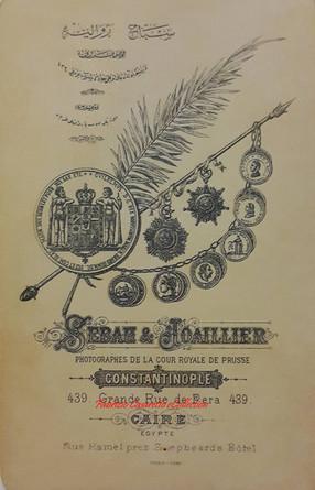 Verso photo 1893