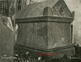 Sarcophage de Ste Irene 267. 1890s