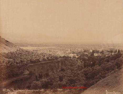 Vue generale d'Aidin, prise du Nord (Tralles) 62. 1890