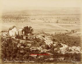 Vue de Tchekirgue et le vilayet de Hudavendiguiar. Brousse 8. 1890s