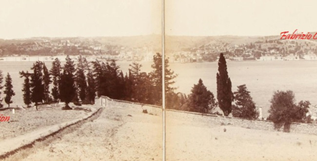 Panorama du Bosphore, prise de Tchamlidja. 1880s