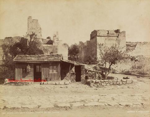 Murs des Sept Tours. Porte de Belgrade 726. 1880s