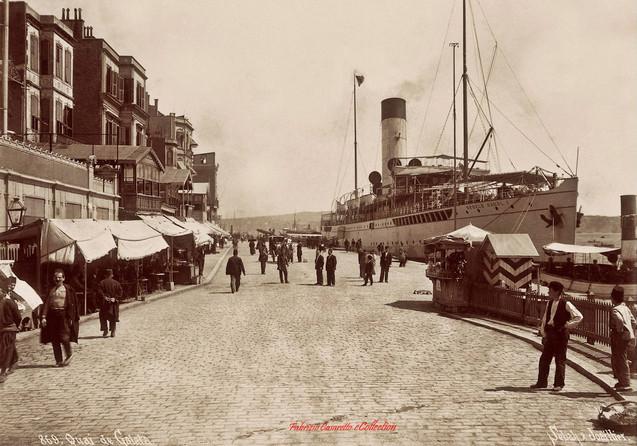 Quai de Galata 869 . 1900s